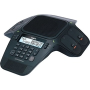 VTech VCS704 ErisStation™ Conference Phone with Wireless Mics, Black