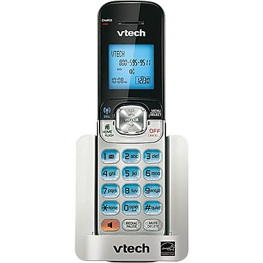 VTech DS6501 Cordless Accessory Handset for VTech DS6511, DS6521 or DS6522, Silver/Black