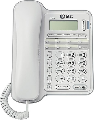 AT&T® CL2909 Corded Speakerphone with Caller ID