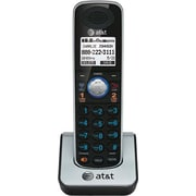 AT&T TL86009 2-Line Cordless Accessory Handset for AT&T TL86109 Phone System, Black
