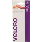 "Velcro Glue Dots, Removable, 1/2"" diameter, 80/Ct"