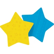 "Post-it® Die-Cut Memo Cube, 3"" x 3"", Assorted Colors, Star-Shaped, 2 Pads/Pack (7350-STR)"