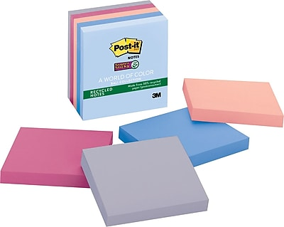 Post-it® Super Sticky Notes, 3