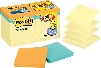 Post-it® Pop-Up Notes Bonus Value Pack, 3