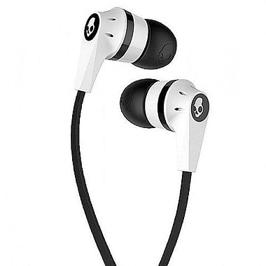Skullcandy Ink'd 2 Earbuds, White/Black