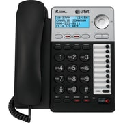 AT&T ML17929 2-Line Corded Speakerphone, Black