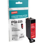 Staples Reman Black Ink Cartridge, Canon PGI-225 (4530B001)