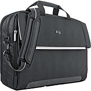Solo New York Urban Polyester Laptop Briefcase, Black (LVL330-4)