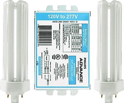 Philips SmartMate Programmed Start Fluorescent Ballast, 2 Lamp, 42W