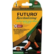 Futuro Revitalizing Ultra Sheer Knee Highs for Women