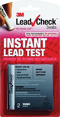 3M® LeadCheck Swabs, 2/Pack