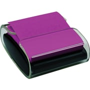 "Post-It® Pop-Up Dispenser for 3"" x 3"" Notes, Black/Clear (WD330)"