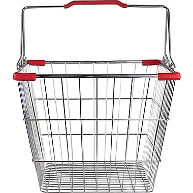 Wire Shopping Basket, 26 Liter, 20 Baskets / Pack