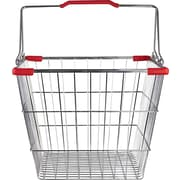Wire Shopping Basket, 26 Liter, 20 Baskets / Pack