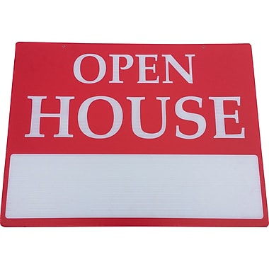 Open House Sign, 18x24 inch