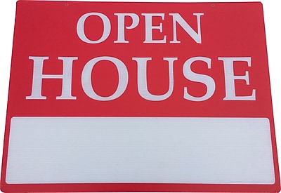 Open House Sign, 18 x 24 inch