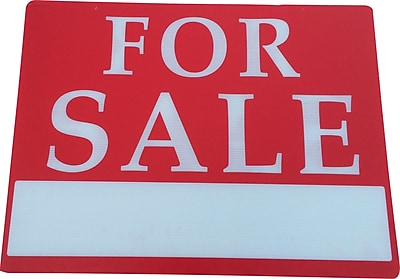 For Sale Sign, 18 x 24 inch