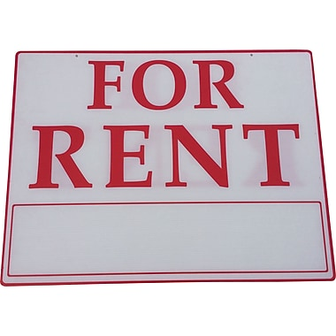 For Rent Sign, 18x24 inch