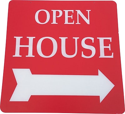 Open House Sign, 24 x 24 inch