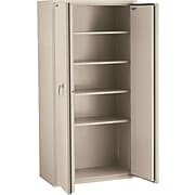 """FireKing 72"""" Storage Cabinet with 4 Shelves, Parchment (CF7236DPA)"""