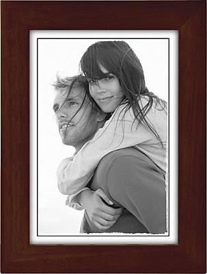 Malden Classic Linear Wood Picture Frame, Espresso Walnut, 5