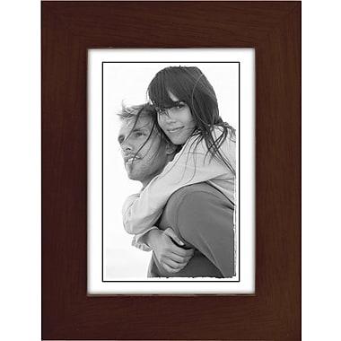 Malden Classic Linear Wood Picture Frame, Espresso Walnut, 3.5