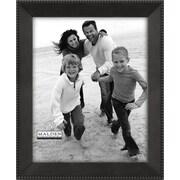 "Malden Marquee Beaded Metal Picture Frame, Dark Bronze, 8"" x 10"""