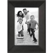 "Malden Beaded Metal Picture Frame, Dark Bronze, 4"" x 6"""