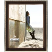 """Malden Two Tone Beaded Picture Frame, Bronze/Silver, 8"""" x 10"""""""