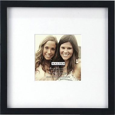 Malden Smart Wood Picture Frame, Black, 4