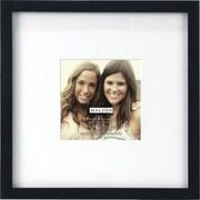 """Malden Smart Wood Picture Frame, Black, 4"""" x 4"""""""