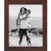 "Malden Classic Linear Wood Picture Frame, Dark Walnut, 8"" x 10"""