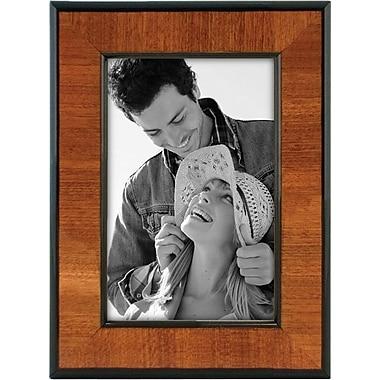 Malden Burlwood Picture Frame With Black, 4