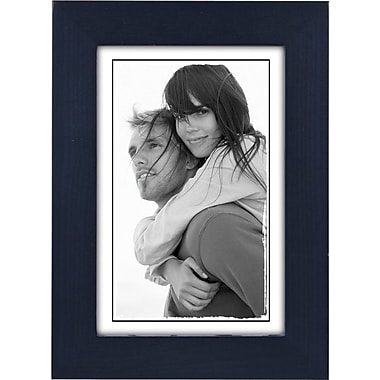 Malden Classic Linear Wood Picture Frame, Blue, 4