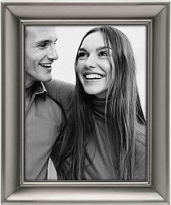 Malden Concourse Metal Picture Frame, Pewter, 5
