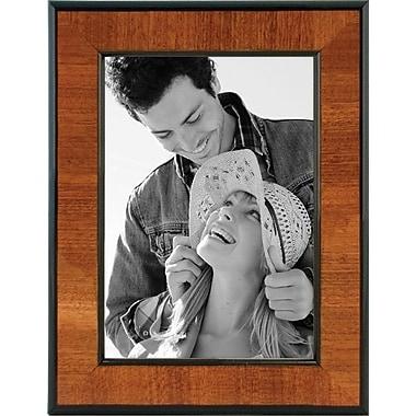 Malden Burlwood Picture Frame With Black, 5