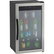 Avanti Model BCA306SS-IS, 3.0 CF Beverage Cooler, 3 fta3, Auto-defrost, Black, Stainless Steel, Silver
