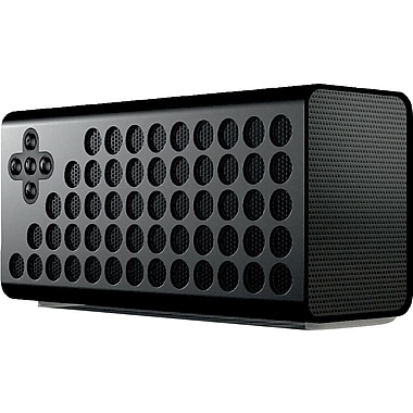 Cuatro Bluetooth Portable Wireless Speaker w/ Bass+ Technology and Carrying Case - Black