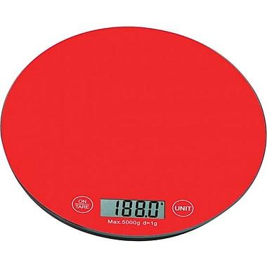 Digital Kitchen Scale, Red