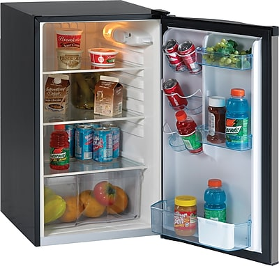 Avanti 4.4 Cu. Ft. COMPACT SS/BLK FRIDGE
