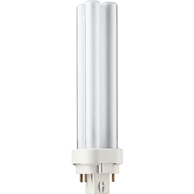 Philips 18W Compact Fluorescent Light Bulb, PL-C, 10/Pack (383331)