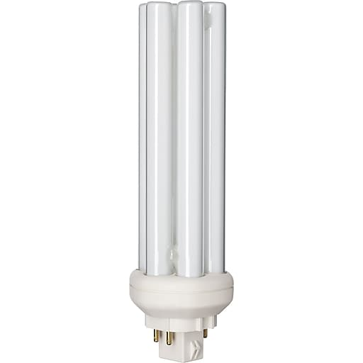 Philips Compact Fluorescent PL-T Lamp, 32 Watts, 4-Pin, Cool White, 10PK