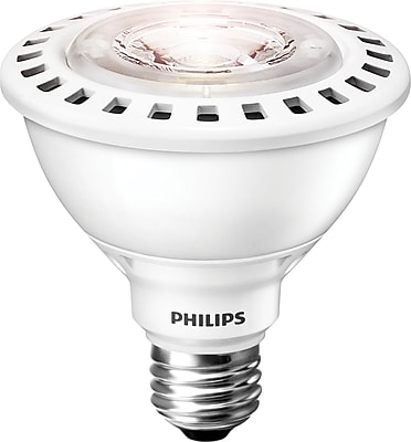 Philips 12W Warm White LED Light Bulb, 30PAR Short Neck, 6/Pack (435339)