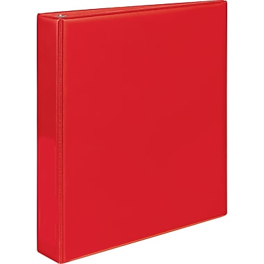 Staples® Simply Round Ring Binder, 1-1/2