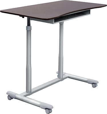 Uncaged Ergonomics WorkEZ Standing Desk Black WESDb Staples