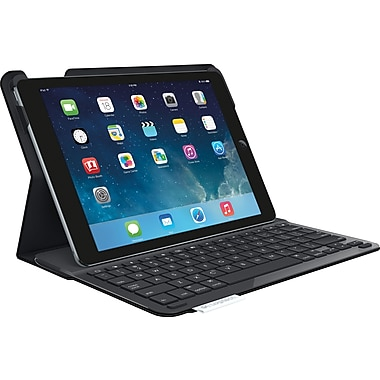 Logitech Type+ Protective Case with Integrated Keyboard for iPad Air, Black