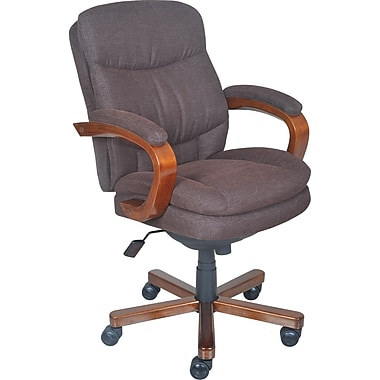 bonded bradley chairs model lazy instructions z office attractive la boy leather desk grain chair martin executive inspirational top