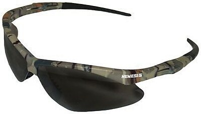 Jackson Nemesis™ ANSI Z87.1 Safety Glasses, Smoke