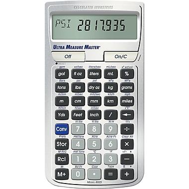 alculated Industries Ultra Measure Master 8025 Conversion Calculator