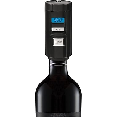 Automatic Wine Preserver and Thermometer